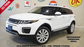 2016 Land Rover Range Rover Evoque HSE PANO ROOF,NAV,BACK-UP,HTD LTH,33K! in Carrollton TX, 75006