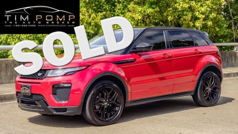 2016 Land Rover Range Rover Evoque HSE Dynamic   Memphis, Tennessee   Tim Pomp - The Auto Broker in Memphis Tennessee