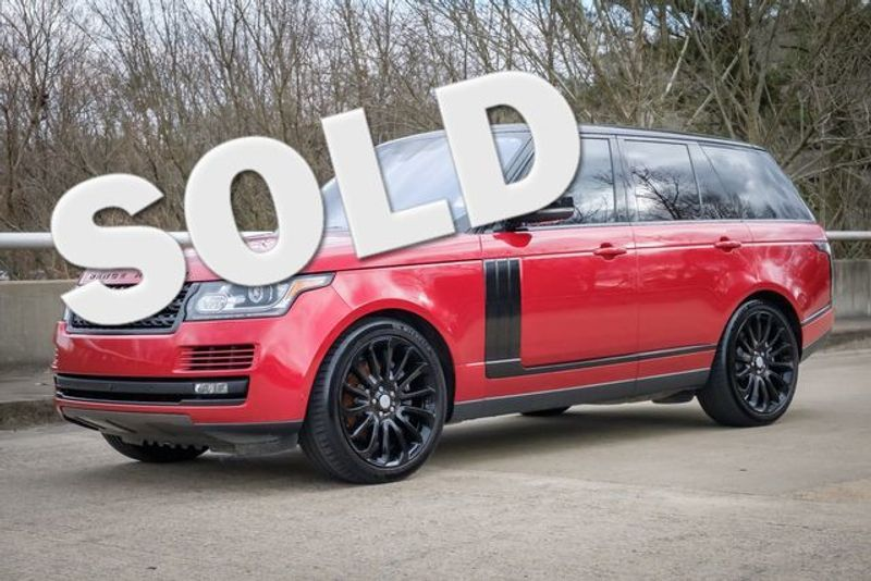 2016 Land Rover Range Rover Supercharged | Memphis, Tennessee | Tim Pomp - The Auto Broker in Memphis Tennessee