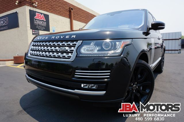 2016 Land Rover Range Rover Autobiography V8 Supercharged 4WD SC ATB Full Size
