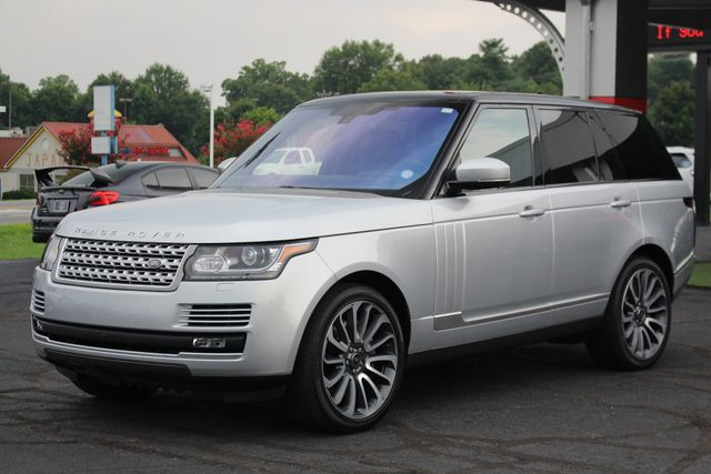 2016 Land Rover Range Rover Supercharged 4WD - VISION ASSIST PACK - PANO ROOF! Mooresville , NC 24