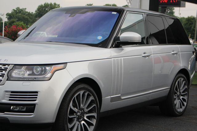 2016 Land Rover Range Rover Supercharged 4WD - VISION ASSIST PACK - PANO ROOF! Mooresville , NC 28