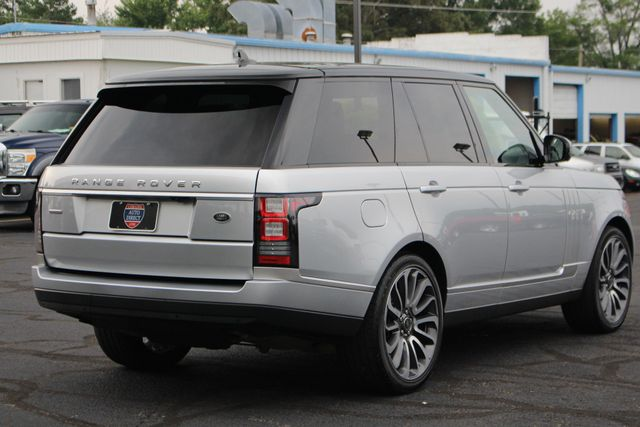 2016 Land Rover Range Rover Supercharged 4WD - VISION ASSIST PACK - PANO ROOF! Mooresville , NC 25