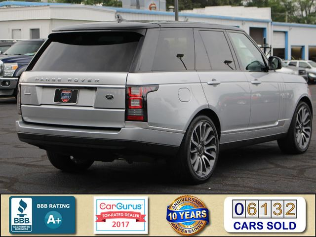 2016 Land Rover Range Rover Supercharged 4WD - VISION ASSIST PACK - PANO ROOF! Mooresville , NC 2