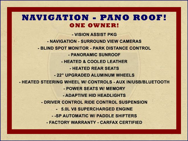 2016 Land Rover Range Rover Supercharged 4WD - VISION ASSIST PACK - PANO ROOF! Mooresville , NC 1