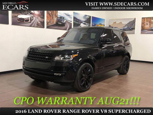 2016 Land Rover Range Rover V8 Supercharged