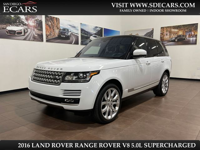 2016 Land Rover Range Rover V8 Supercharged in San Diego, CA 92126