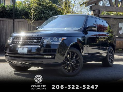 2016 Land Rover Range Rover 3.0L Supercharged HSE Driver & Vision Assistance Packages 1 Owner  in Seattle