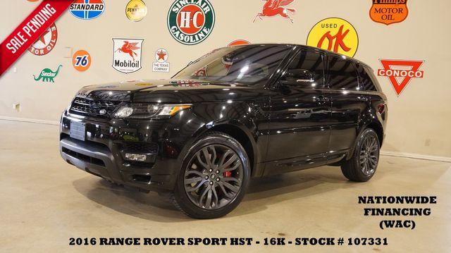 2016 Land Rover Range Rover Sport HSE HST ROOF,NAV,HTD/COOL LTH,21'S,16K