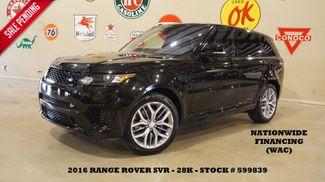 2016 Land Rover Range Rover Sport SVR HUD,PANO ROOF,360 CAM,HTD LTH,28K in Carrollton, TX 75006