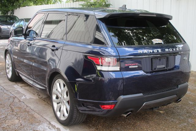 2016 Land Rover Range Rover Sport Autobiography Houston, Texas 14