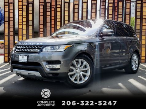 2016 Land Rover Range Rover Sport HSE Driver Assist Vision & Convenience $81,410 MSRP in Seattle