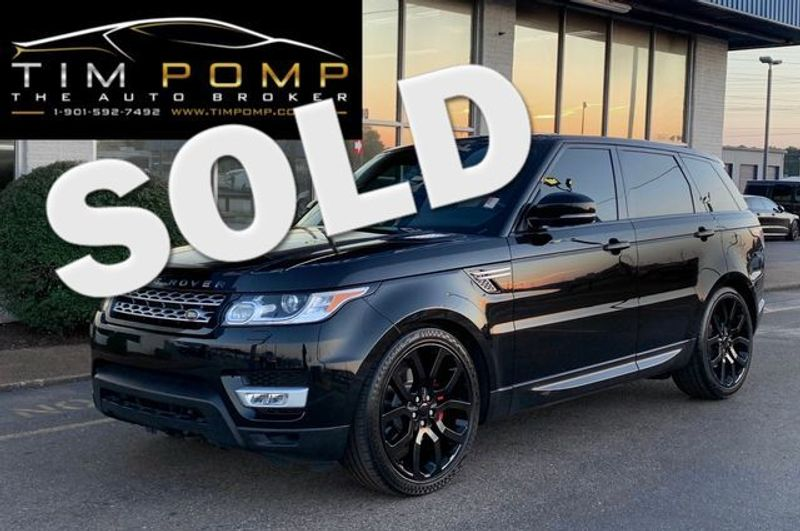 2016 Land Rover Range Rover Sport V6 HSE | Memphis, Tennessee | Tim Pomp - The Auto Broker in Memphis Tennessee