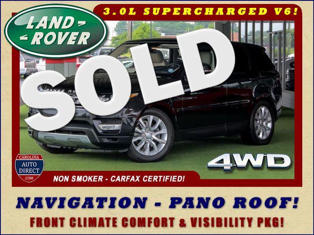 2016 Land Rover Range Rover Sport V6 HSE 4WD - NAV - PANO ROOF - BLIND SPOT! Mooresville , NC 0