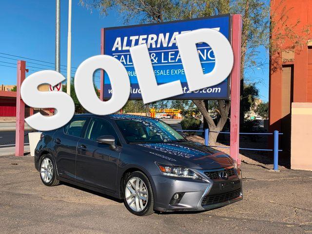 2016 Lexus CT 200h Hybrid 3 MONTH/3,000 MILE NATIONAL POWERTRAIN WARRANTY Mesa, Arizona