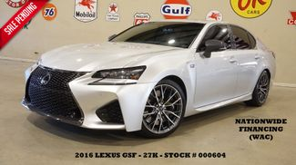 2016 Lexus GS F MSRP 87K,HUD,ROOF,NAV,MARK LEVINSON,27K,WE FINANCE in Carrollton, TX 75006
