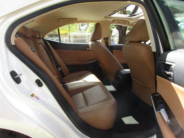 2016 Lexus IS 200t Miami, Florida 21