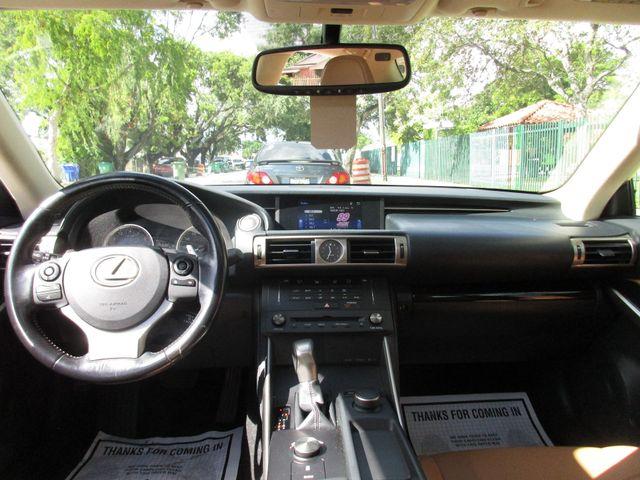 2016 Lexus IS 200t Miami, Florida 24