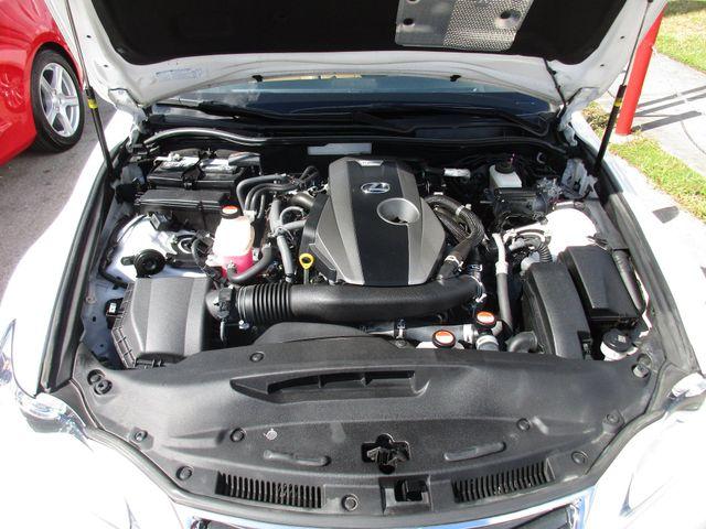 2016 Lexus IS 200t Miami, Florida 35