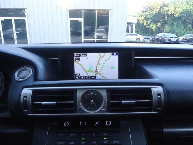 2016 Lexus IS 200t F SPORT PKG. NAVIGATION SEFFNER, Florida 35