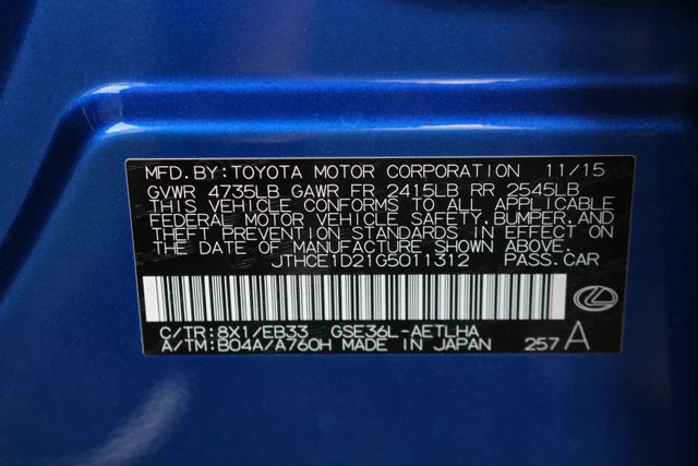 2016 Lexus IS 350 AWD F SPORT - NAV - BLIND SPOT - RADAR CRUISE! Mooresville , NC 55