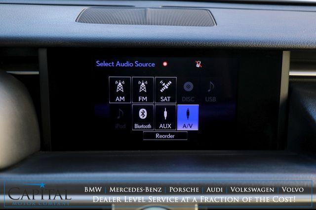 2016 Lexus IS300 AWD Luxury Sport Sedan w/Nav, Backup Cam, Heated/Cooled Seats & Premium Plus Pkg in Eau Claire, Wisconsin 54703