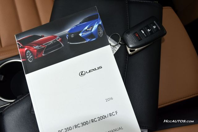 2016 Lexus RC 300 2dr Cpe Waterbury, Connecticut 42