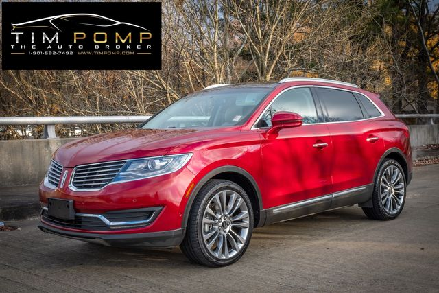 2016 Lincoln MKX Reserve PANO SUNROOF COOLED AND HEATED SEATS