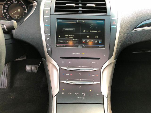 2016 Lincoln MKZ 2.0L I4 in Gower Missouri, 64454