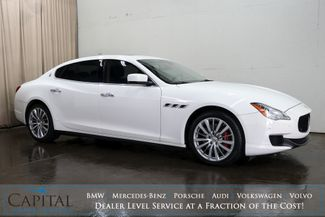 2016 Maserati Quattroporte S Q4 AWD Executive Car with Nav, Heated Seats, Adaptive Suspension & H/K Audio in Eau Claire, Wisconsin 54703