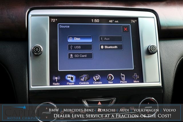 2016 Maserati Quattroporte S Q4 AWD Executive Car with Nav, Heated Seats, Adaptive Suspension & H/K Audio in Eau Claire, Wisconsin 54703