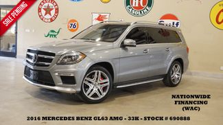 2016 Mercedes-Benz AMG GL 63 NIGHT VISION,ROOF,360 CAM,REAR DVD,33K in Carrollton, TX 75006