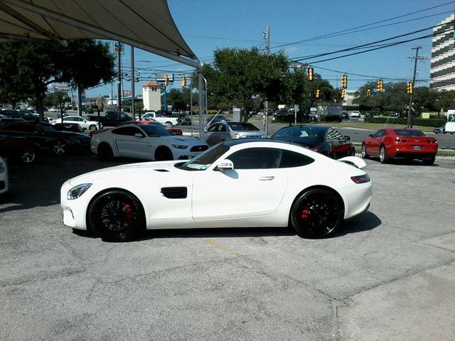 2016 Mercedes-Benz AMG GT S Designo  Diamond White Metallic San Antonio, Texas 1