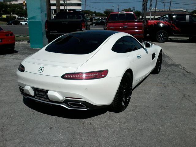 2016 Mercedes-Benz AMG GT S Designo  Diamond White Metallic San Antonio, Texas 10