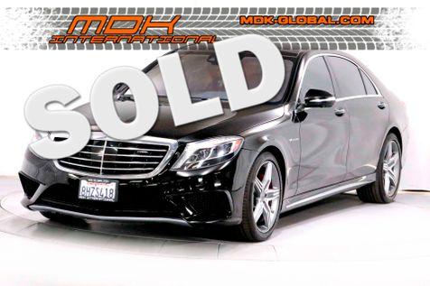 2016 Mercedes-Benz AMG S 63 - Loaded - Original MSRP of $160K in Los Angeles