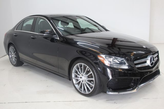 2016 Mercedes-Benz C 300 4 Matic  Sport pkg Luxury Houston, Texas 3