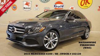 2016 Mercedes-Benz C 300 Sedan MSRP 47K,PANO ROOF,NAV,HTD LTH,4K in Carrollton, TX 75006