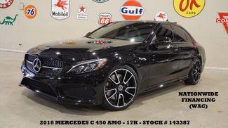 2016 Mercedes-Benz C 450 AMG PANO ROOF,NAV,360 CAM,BURMESTER,17K in Carrollton, TX 75006