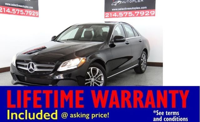 2016 Mercedes-Benz C300 4MATIC, NAV, LEATHER SEATS, BLIND SPOT MONITOR