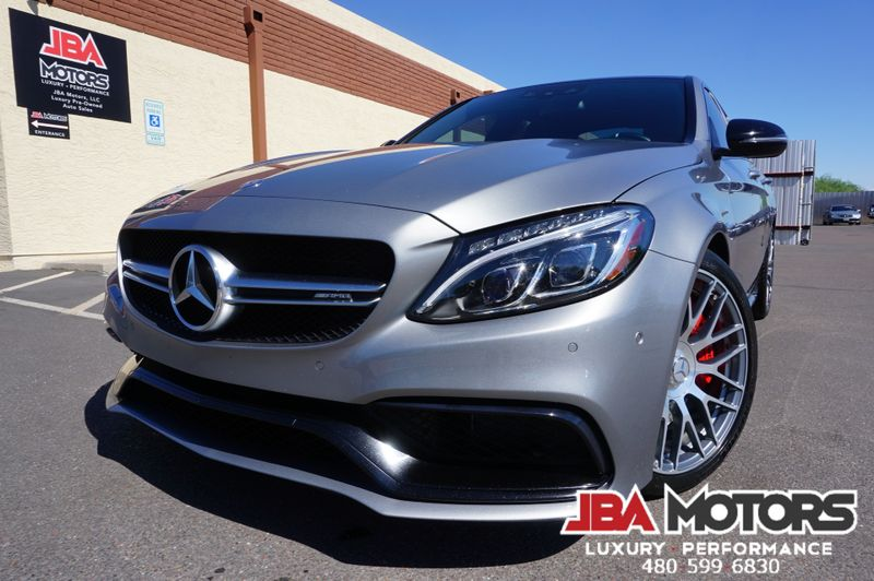2016 Mercedes-Benz C63 C63 S AMG C63S S Model HIGHLY OPTIONED MUST SEE!! | MESA, AZ | JBA MOTORS in MESA AZ