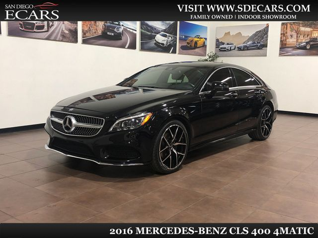 2016 Mercedes-Benz CLS 400 4Matic