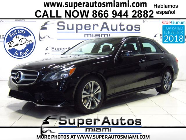 2016 Mercedes-Benz E350 Sport with Navigation System