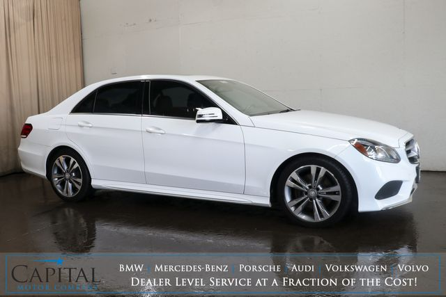2016 Mercedes-Benz E350 Sport 4MATIC AWD Luxury Car w/Nav, Backup Cam, Heated Seats and H/K Premium Audio Pkg in Eau Claire, Wisconsin 54703