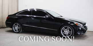 2016 Mercedes-Benz E400 4Matic AWD Coupe w/Navigation, Heated/Cooled in Eau Claire, Wisconsin