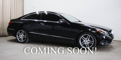 2016 Mercedes-Benz E400 4Matic AWD Coupe w/Navigation, Heated/Cooled Seats, LED Headlights, H/K Audio & AMG Wheels in Eau Claire