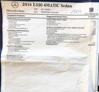 2016 Mercedes-Benz E-Class E350 4Matic Sport PKG in Alexandria VA