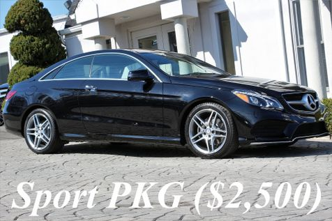 2016 Mercedes-Benz E-Class E400 4Matic Coupe Sport PKG in Alexandria, VA