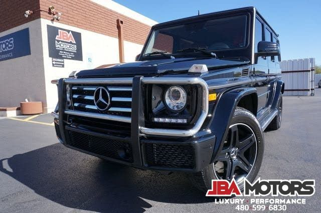 2016 Mercedes-Benz G550 G WAGON G CLASS 550 SUV ~ 1 Owner Clean CarFax