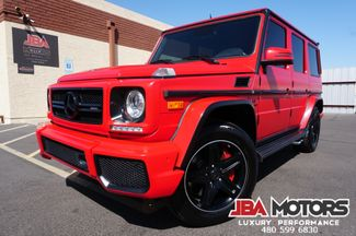 2016 Mercedes-Benz G63 AMG G Class 63 G Wagon Diamond Stitched | MESA, AZ | JBA MOTORS in Mesa AZ