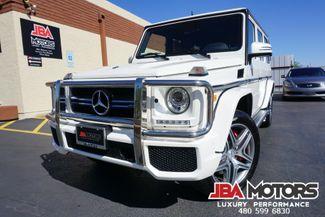 2016 Mercedes-Benz G63 AMG G Class 63 G Wagon Bi-Turbo V8 ~ Mystic White! | MESA, AZ | JBA MOTORS in Mesa AZ